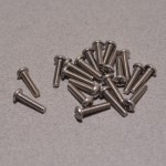 "20 pack 4/40 x 1/2"" Phillips screws"