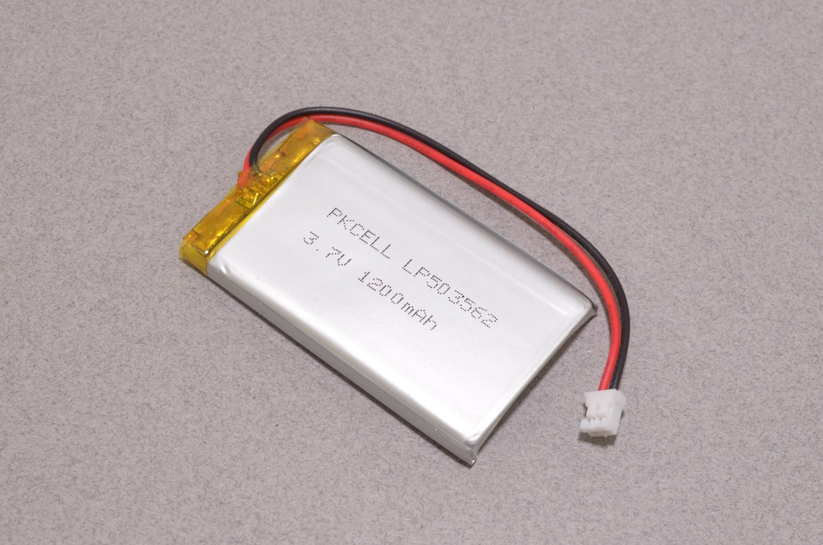 lithium ion polymer battery 1200mah bc robotics. Black Bedroom Furniture Sets. Home Design Ideas