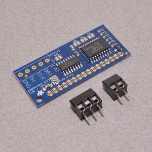 i2c / SPI Character LCD Backpack - Adafruit 292 - BC Robotics