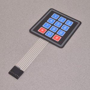 Membrane 3x4 Matrix Keypad - BC Robotics