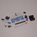 Adafruit adjustable breadboard power supply kit