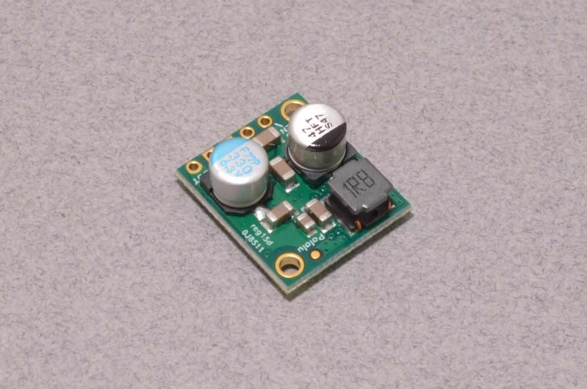 5v 5a Step Down Voltage Regulator Pololu 2851 Bc Robotics Switching On Schematic 1695 Add To Wishlist Loading