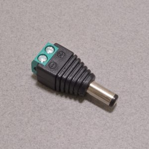 DC Barrel Plug to Screw Terminal Adapter