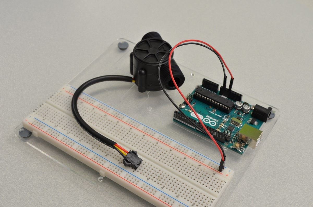 Using A Flow Sensor With Arduino - BC Robotics