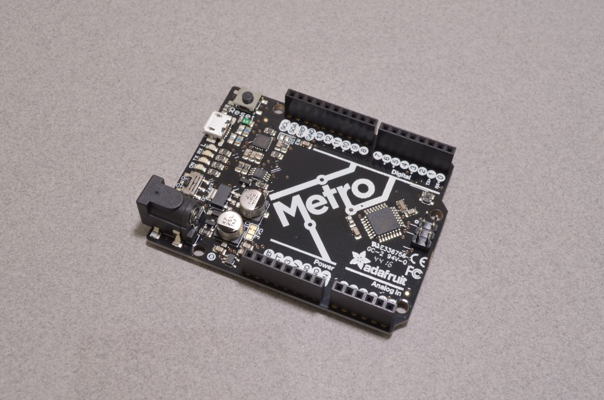 Adafruit Metro 328 Arduino Compatible Microcontroller Usb To Serial Converter Using Avr