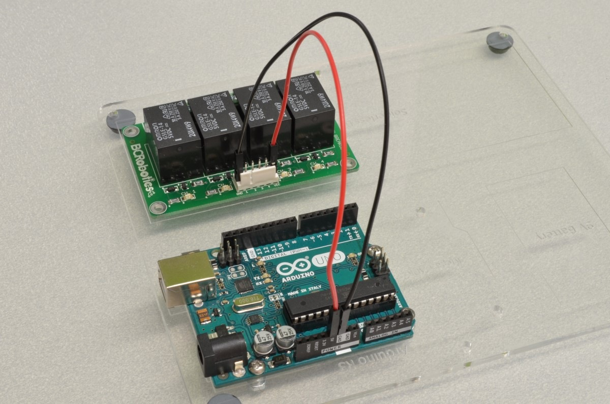 Getting Started With The 4 Channel Relay Breakout - BC Robotics