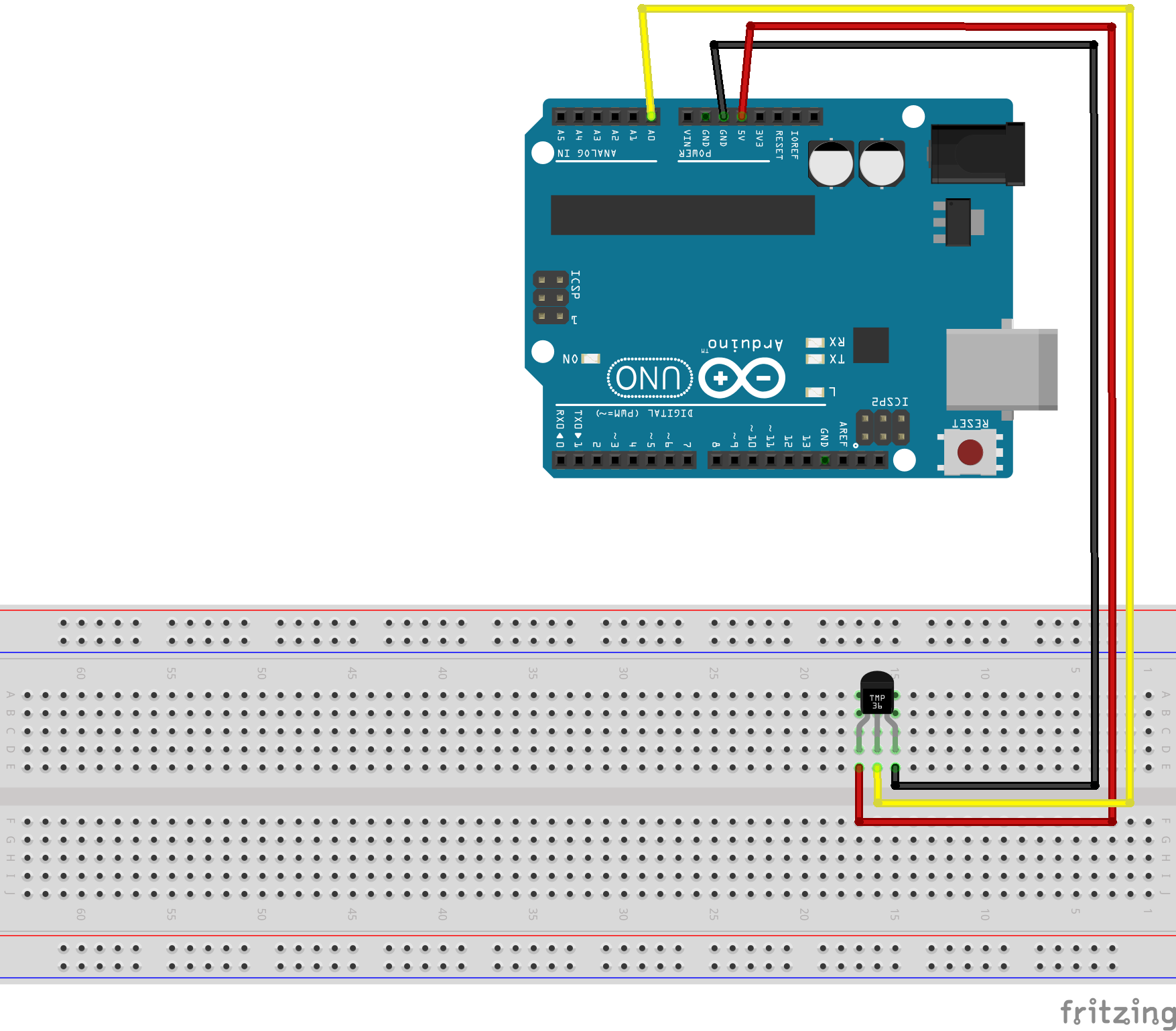 Using A TMP36 Temperature Sensor With Arduino - BC Robotics