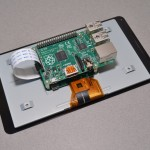 Official touchscreen for use with the Raspberry Pi