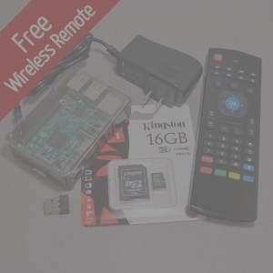 Raspberry Pi Media Kit + Media Center Remote - Black Friday Special - BC  Robotics