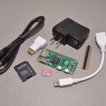 Raspberry Pi Zero Starter Kit with all parts needed to get started