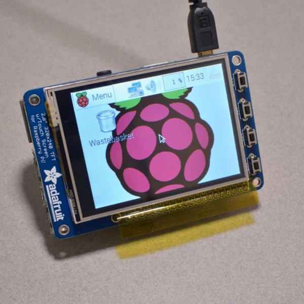 Adafruit 2.8 Resistive touchscreen for Raspberry Pi 3 and Raspberry Pi 2