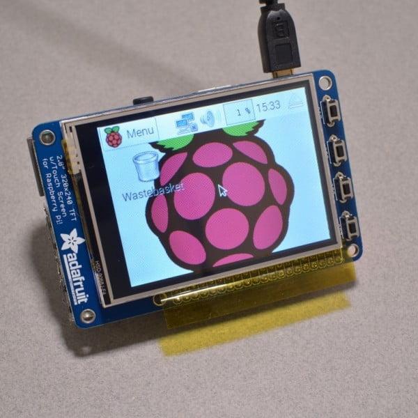 Adafruit 2.8 Resistive touchscreen for Raspberry Pi 3 and Raspberry Pi 2