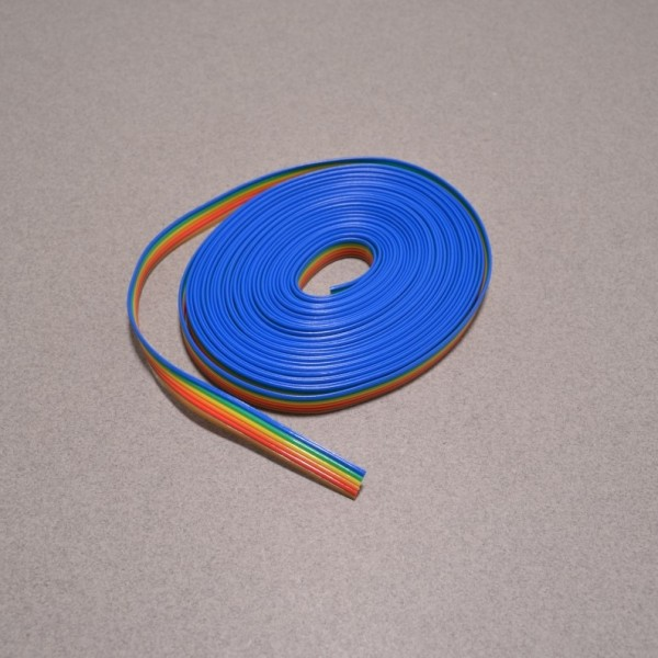 6 wire ribbon cable