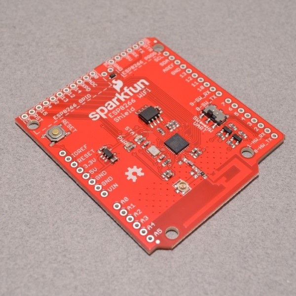 SparkFun ESP8266 WiFi Shield for Arduino and RedBoard
