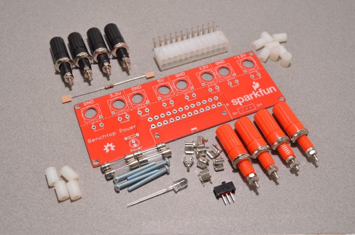Sparkfun Benchtop Power Board Kit Bc Robotics