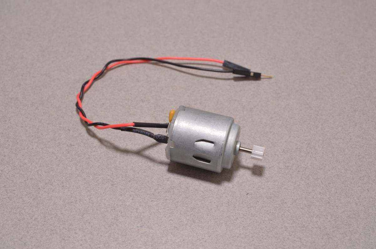 Hobby Motor 1 0v To 12v Input With Gear Bc Robotics