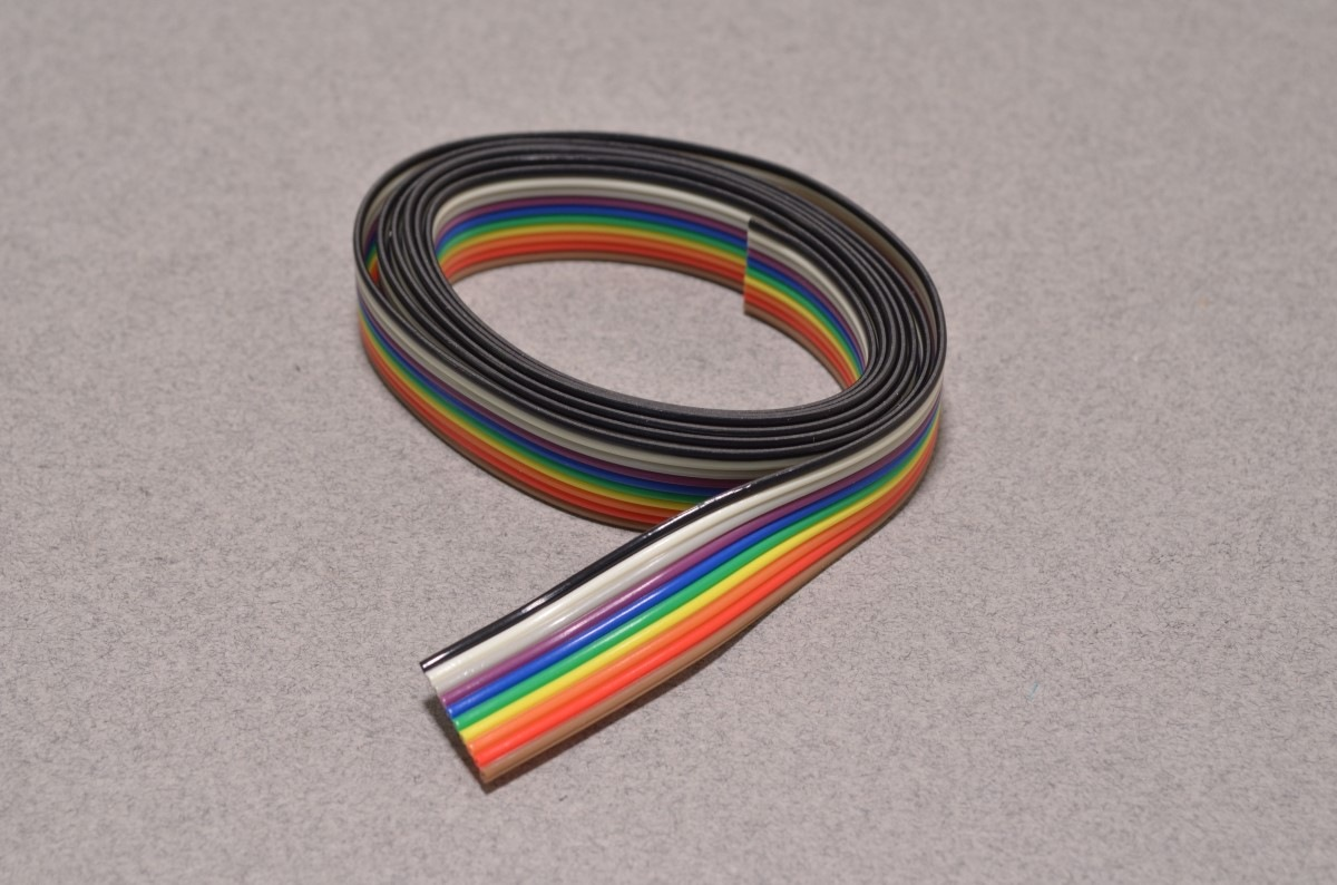 Ribbon Cable 10 : Ribbon cable wire ft bc robotics