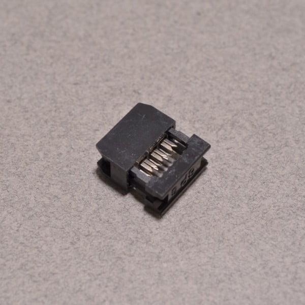 6 Pin Ribbon Cable : Ribbon crimp connector pin idc bc robotics