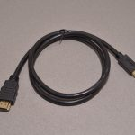 Mini HDMI to HDMI adapter cable