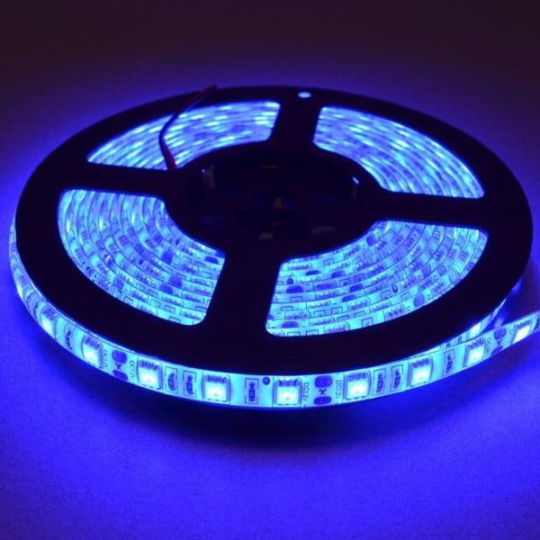 Blue led strip light 5 meter roll bc robotics blue led strip light aloadofball Image collections
