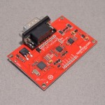 The SparkFun Electronics OBD to UART breakout board