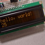 16x2 Character LCD - Amber