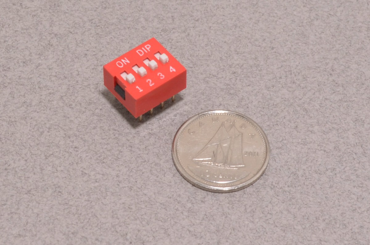 dip switch - 4 channel
