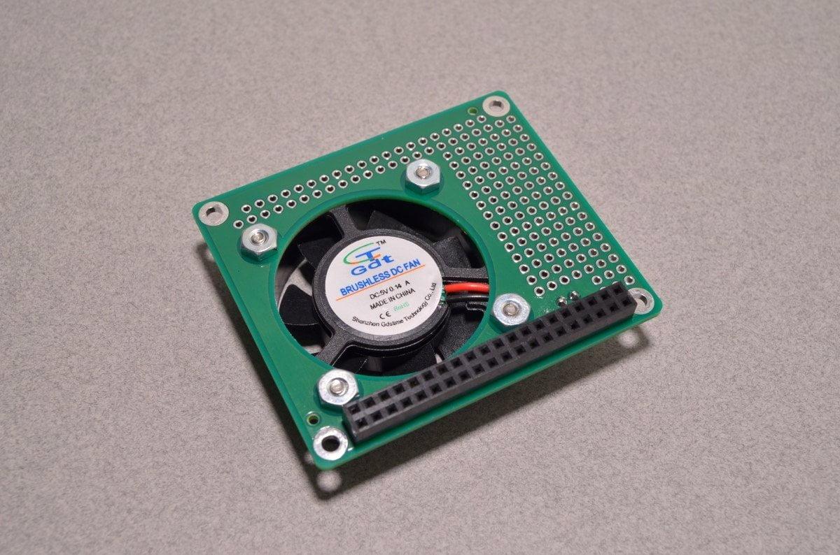 596f7824e6e Raspberry Pi Fan HAT - Active Cooling for the Pi 3 - BC Robotics