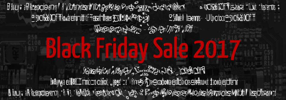 Sale Begins Friday November 24th @ 12:01 AM