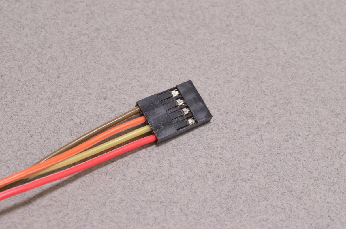 4 Pin Dupont Connector - BC Robotics