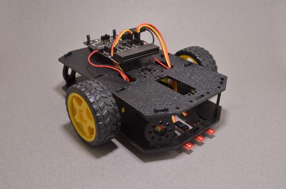 Sparkfun Microbot Kit Learn Electronics Coding And Robotics Picture Frame Tetris