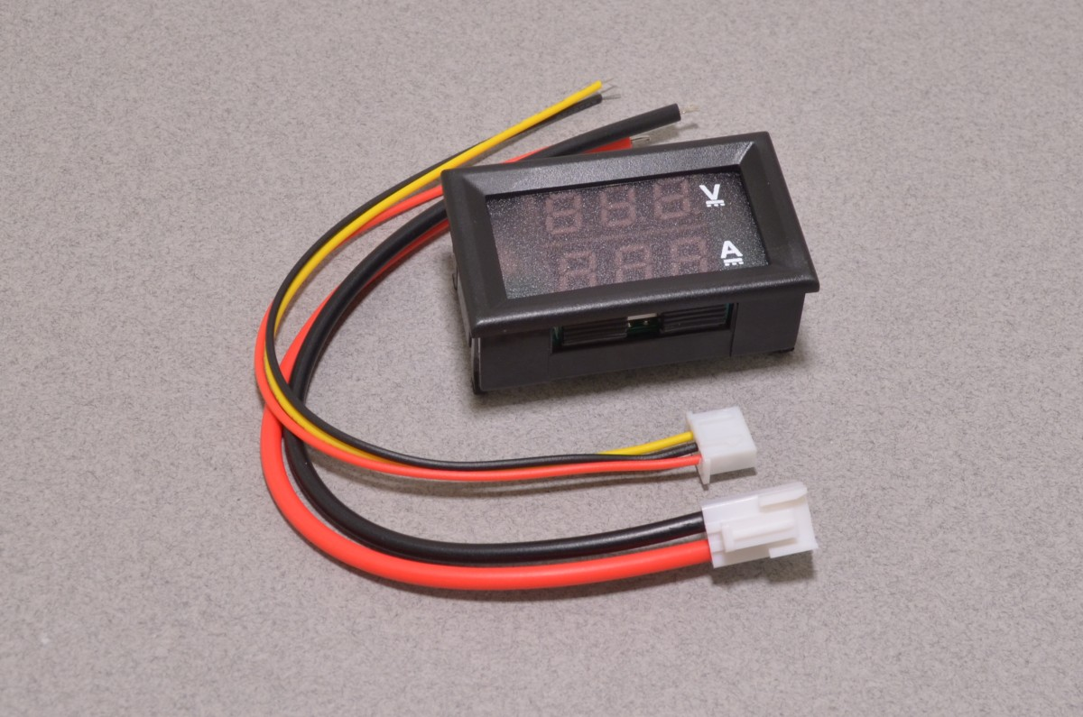 Panel Mount Current Volt Meter Gauge 10a 30v Bc Robotics Wiring Add To Wishlist Loading