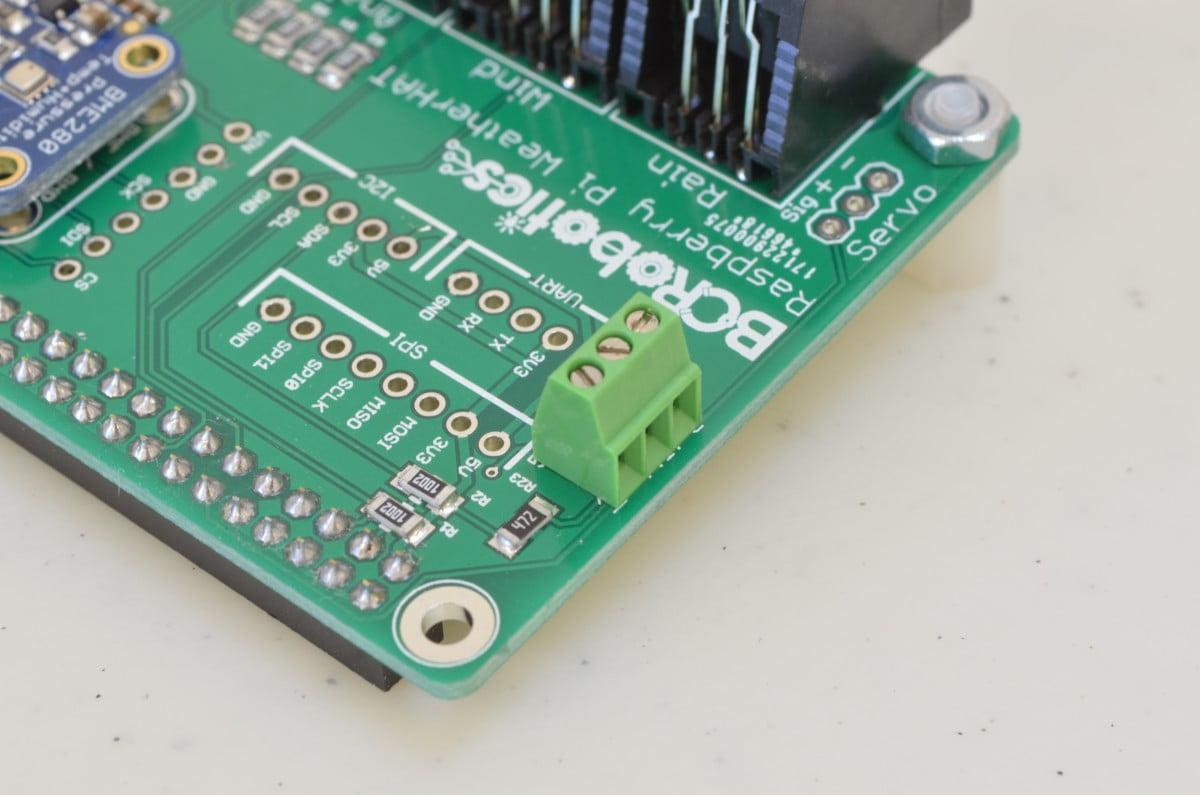 Raspberry Pi Weather Station Part 1 Bc Robotics How To Make A Rain Detector Circuit Step6