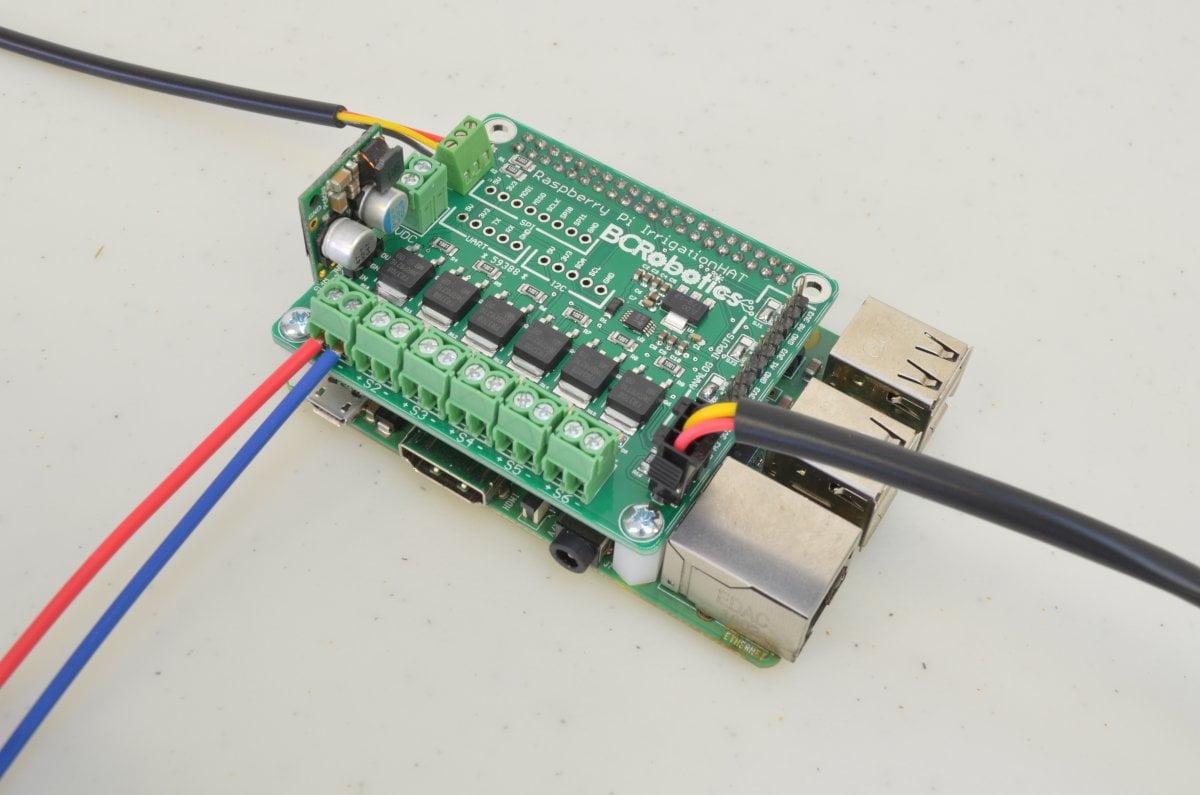 Raspberry Pi Irrigation Control - Part 1 - BC Robotics