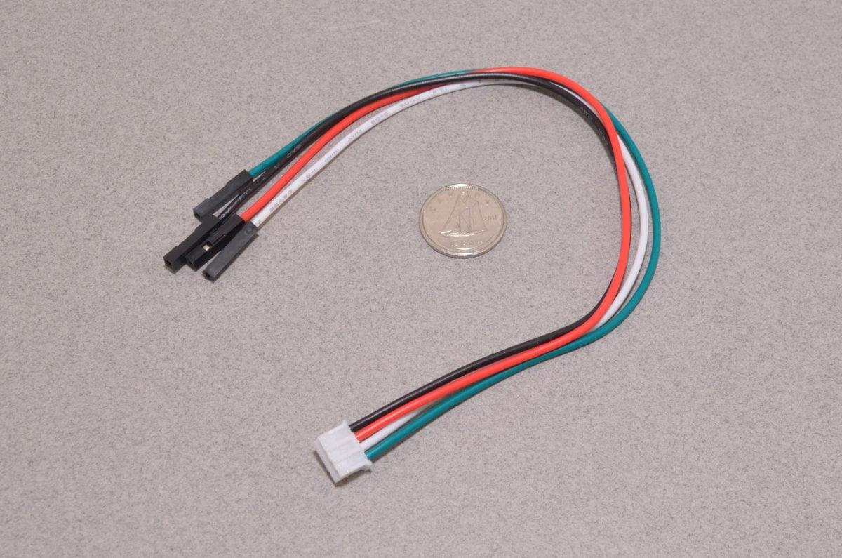 JST PH 4-Pin to Female Socket Cable - Adafruit 3950 - BC Robotics