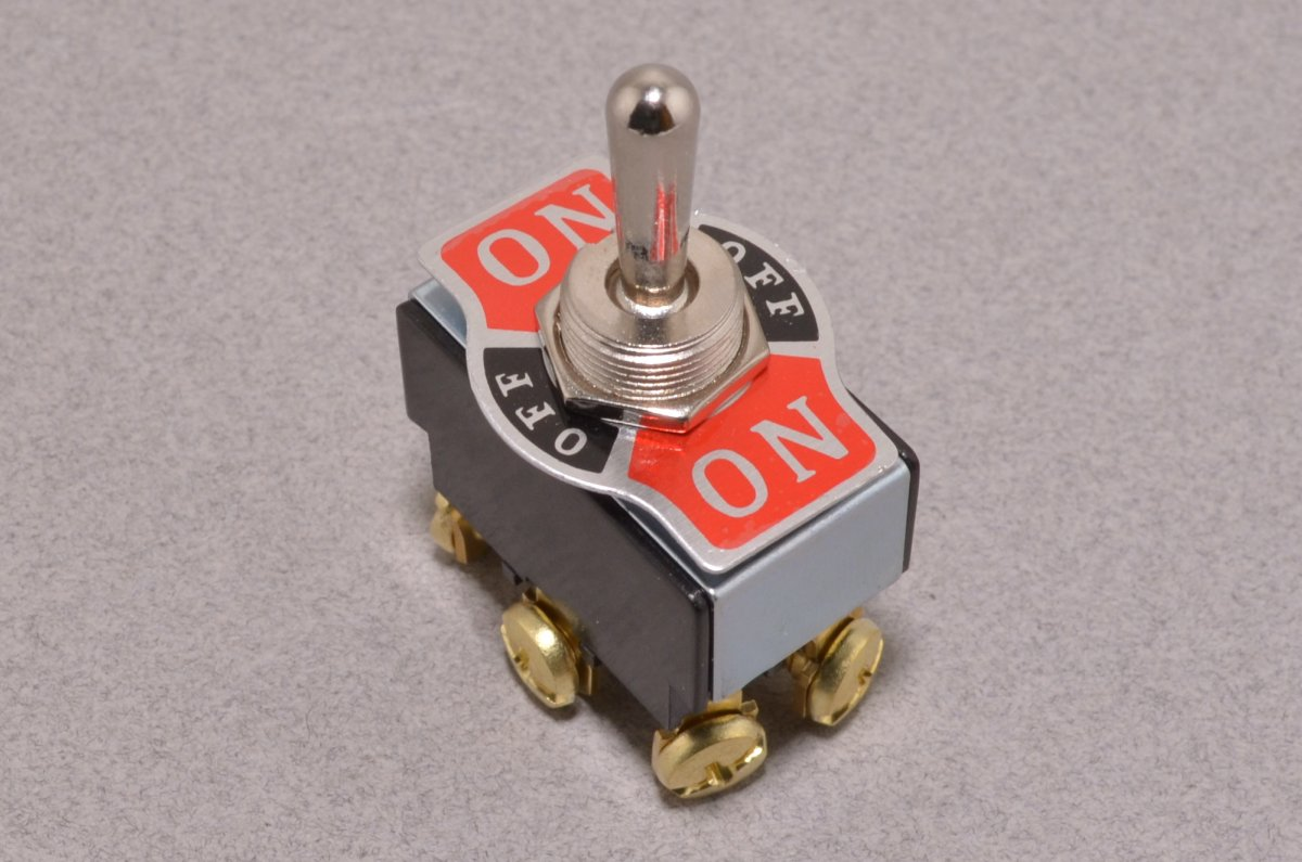 DPDT Toggle Switch - On/Off/On - BC Robotics