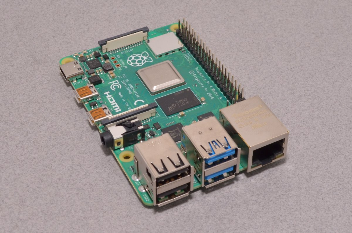 Raspberry Pi 4 - 4GB RAM - BC Robotics